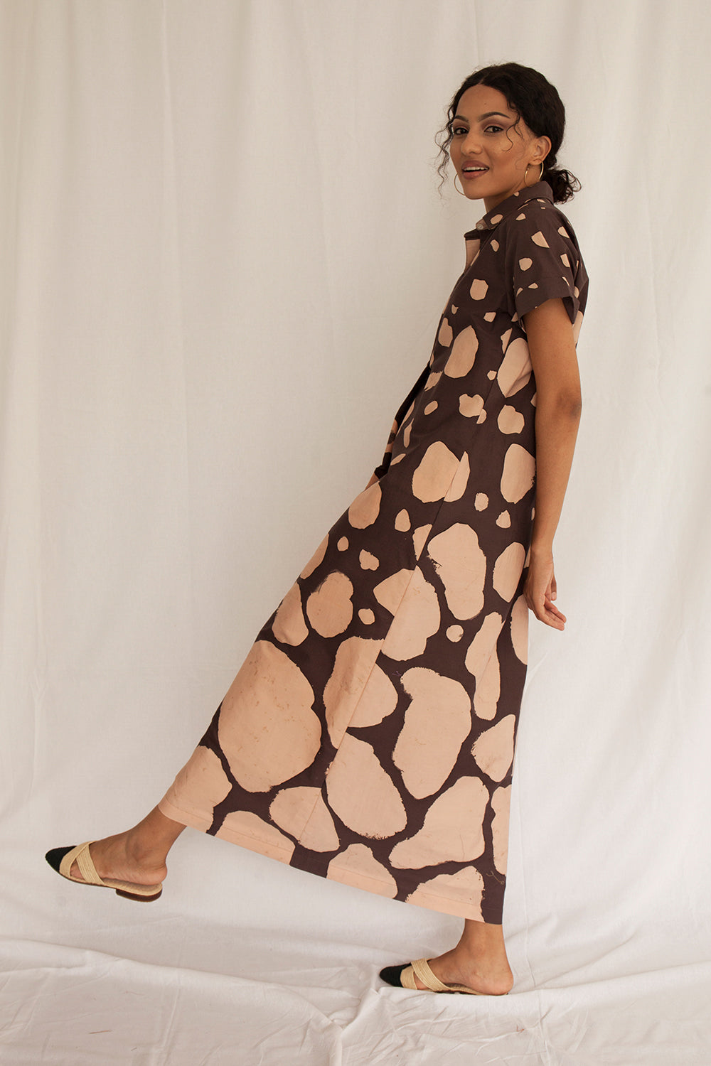 Safari Maxi Sana Dress - FERN