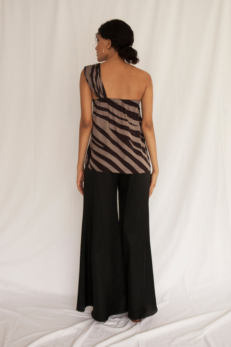 Maha Toga Top (Cotton Silk) - FERN