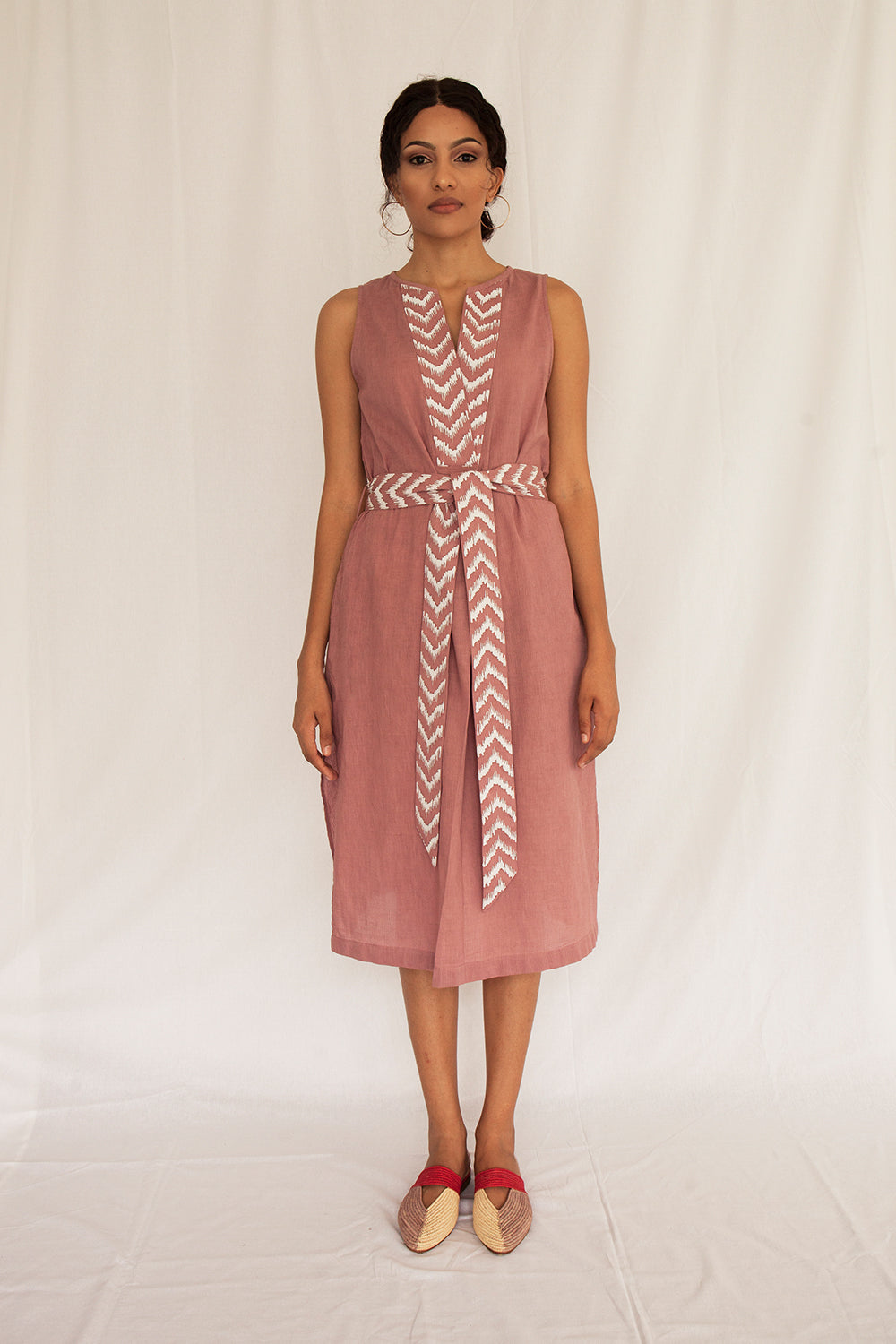 Zane Midi Dress - FERN