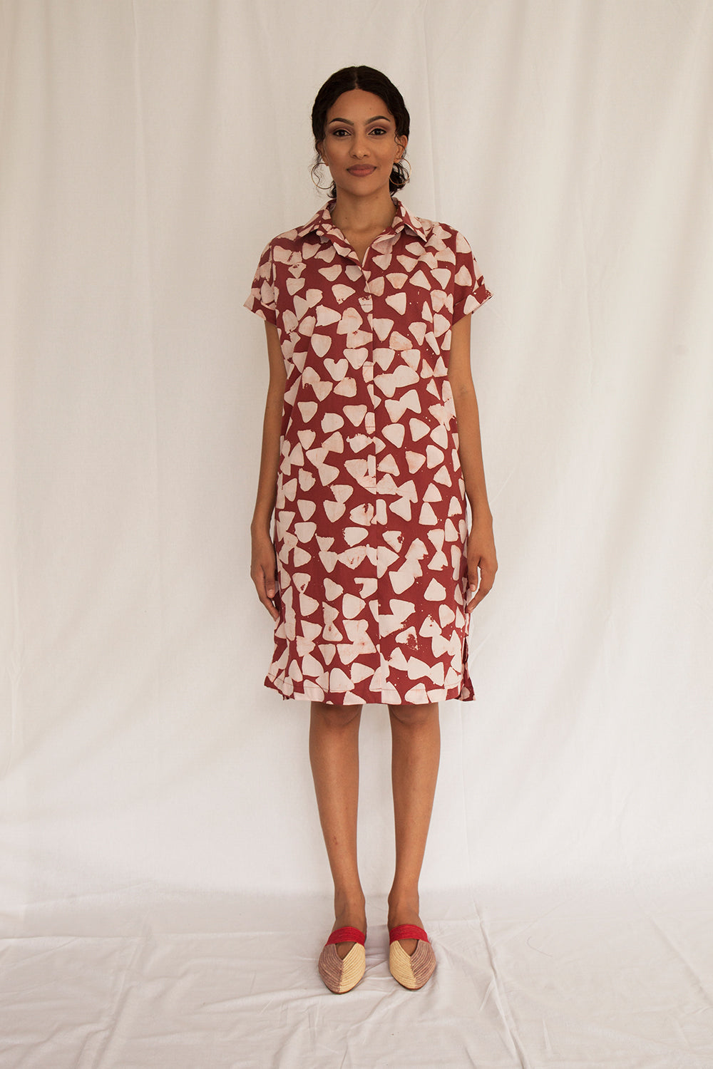 Safari Boxy Dress - FERN