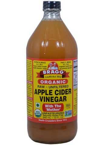 Organic Apple Cider Vinegar, Bragg (32 Oz)