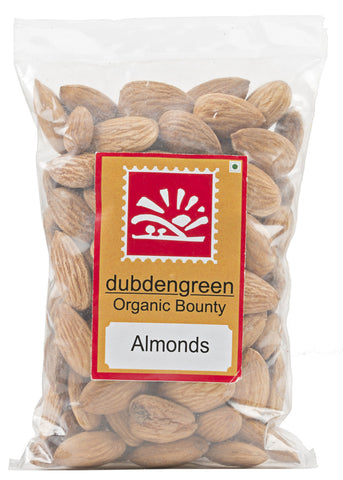 Organic Badam (Almond), Dubdengreen (100gm)