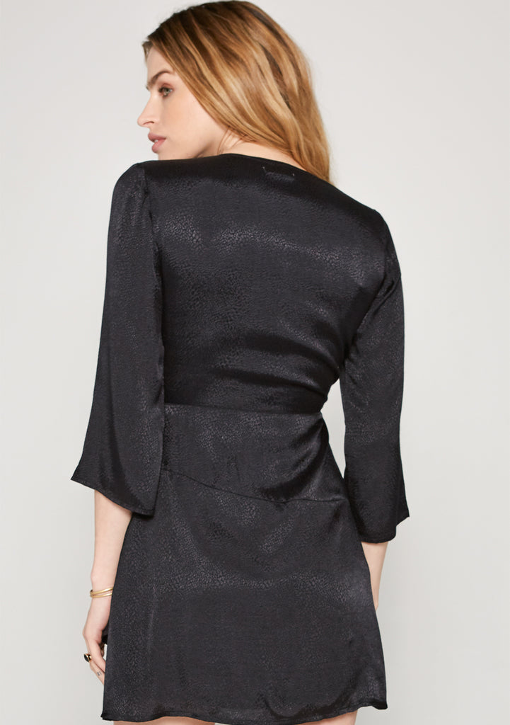 Amuse Society Isobel Dress Black - Back View