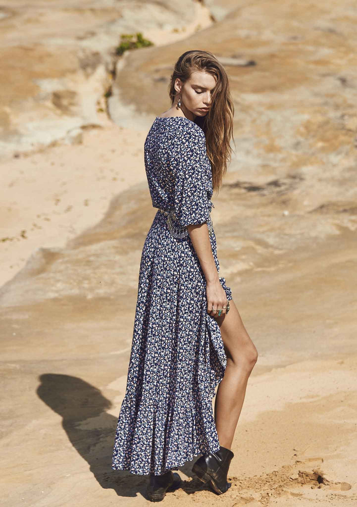 Auguste All Things Good Maxi Dress || Auguste the Label || Back View
