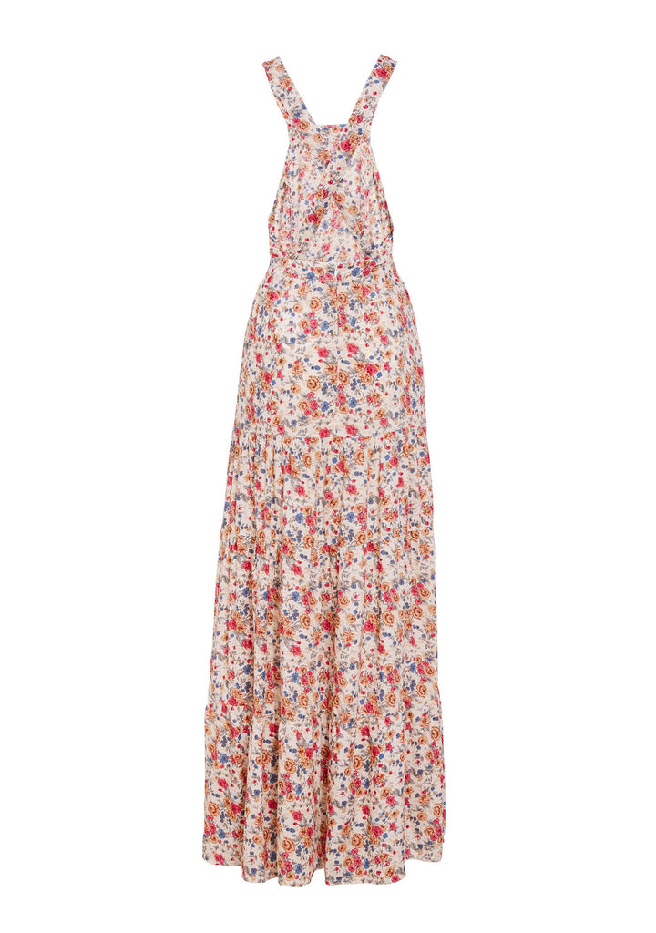 Auguste Helena Maxi Apron Dress Flatlay Back View
