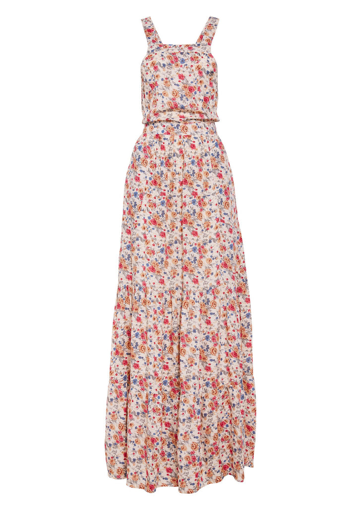 Auguste Helena Maxi Apron Dress Flatlay Front View