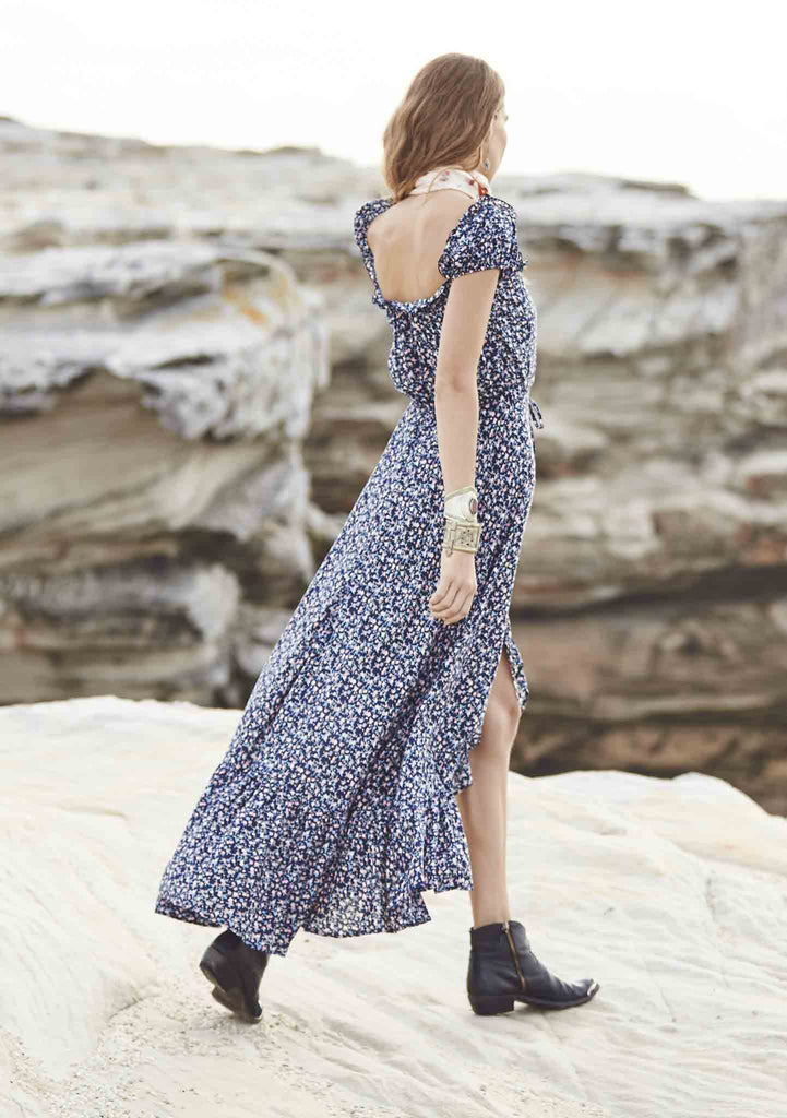 Auguste Open Road Willow Day Dress || Auguste the Label || Back View