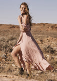 Auguste Willow Day Dress Blush Side View