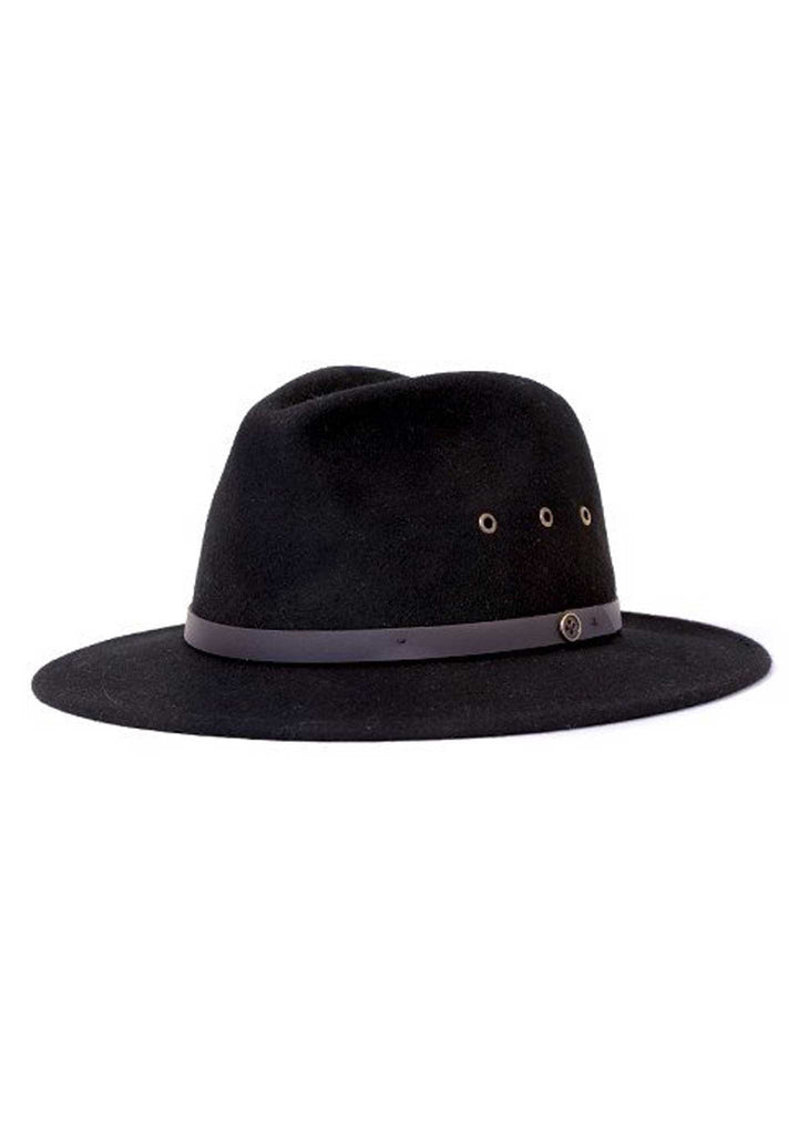 Fallen Broken Street - The Ratatat Fedora Hat - Black