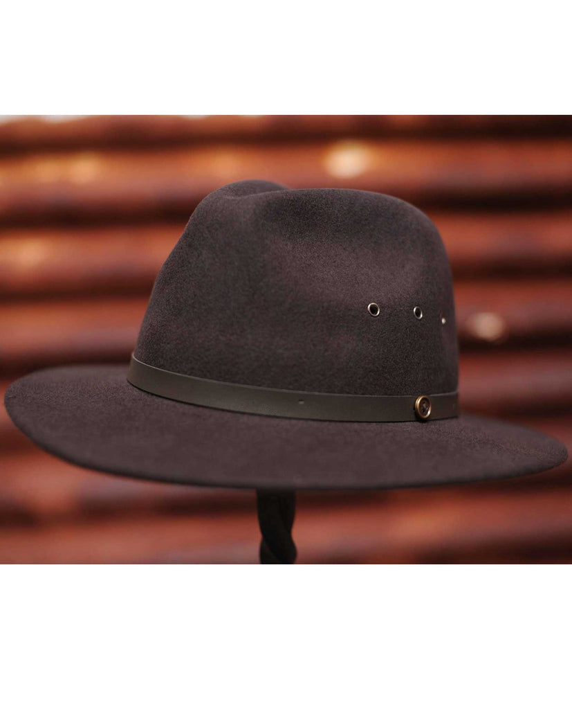 Fallen Broken Street The Ratatat Chocolate Fedora Hat