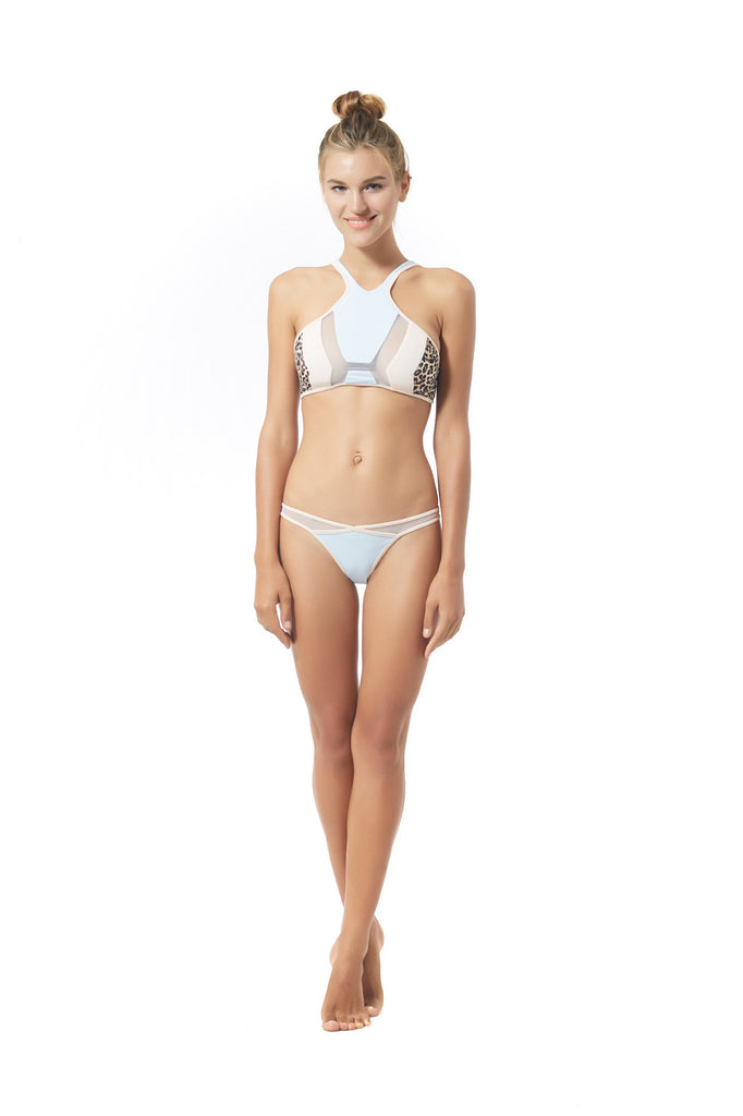 Skye & Staghorn Impala Cross-over Bikini Pant || Swimwear || View 1