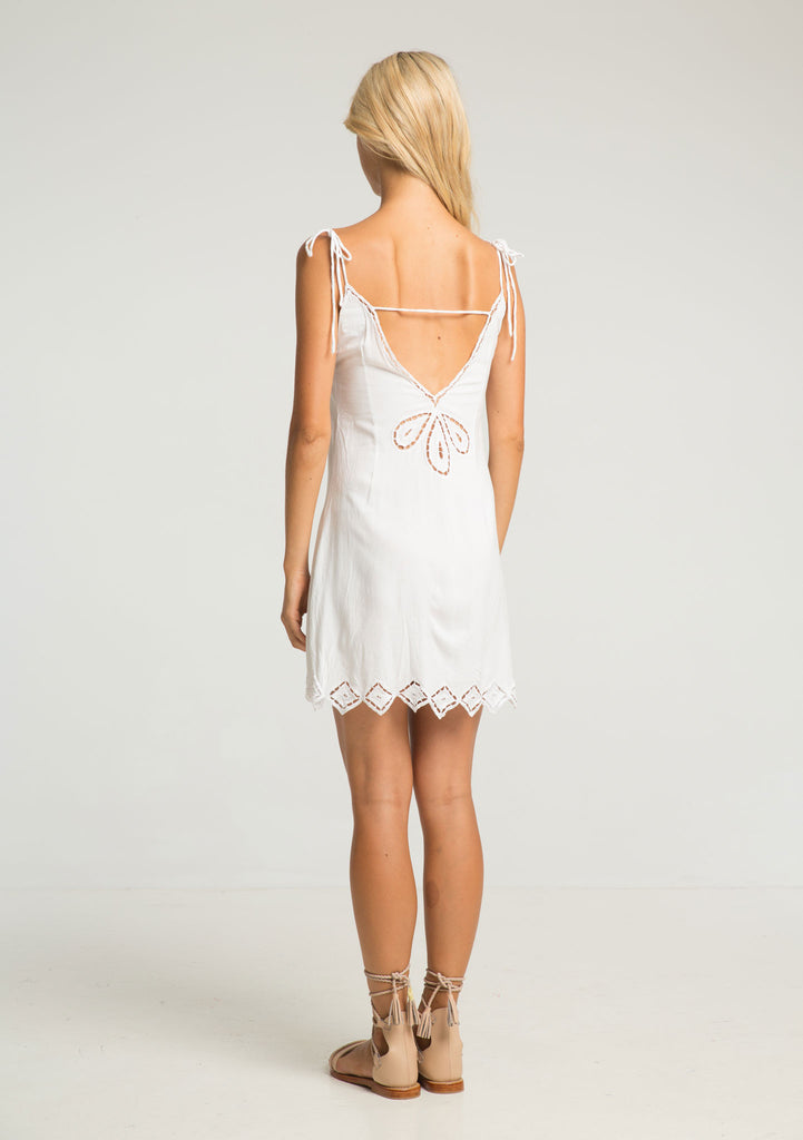 Rue Stiic Lexa Lace Dress - Back View