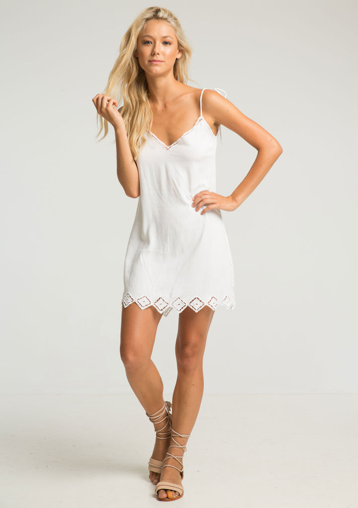 Rue Stiic Lexa Lace Dress - Front View
