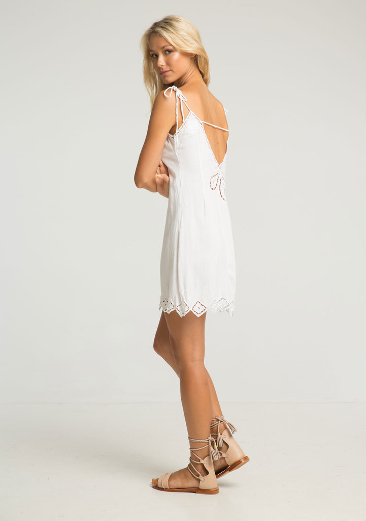 Rue Stiic Lexa Lace Dress - Side View