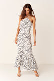 Suboo Verona Halter Maxi Dress Front View