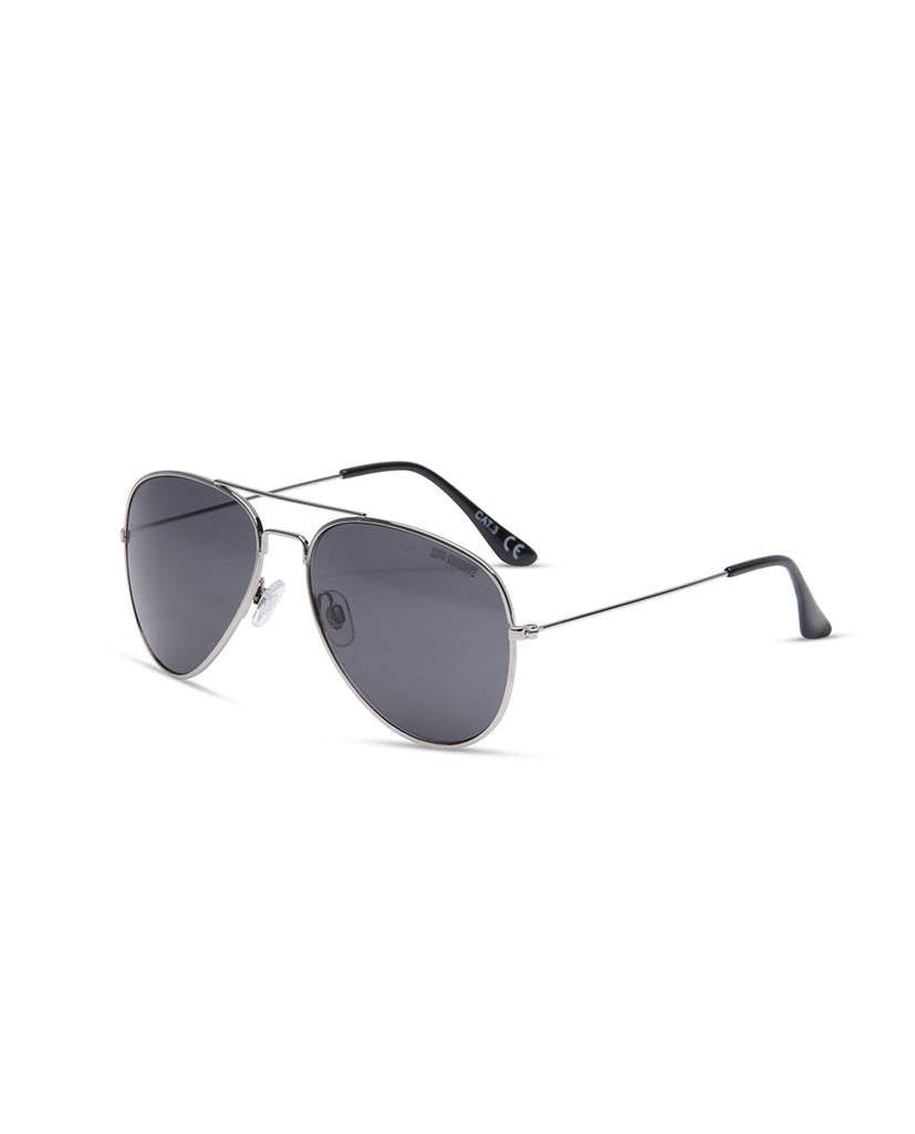 Supa Sundays Aviator Sunglasses - Black Sunglasses - Back View