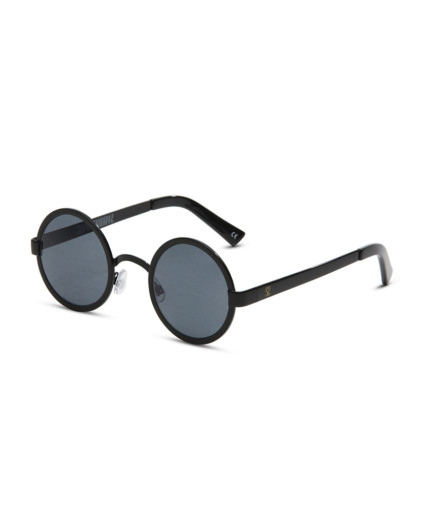 Supa Sundays Iggy Sunglasses - Black Sunglasses - View 2