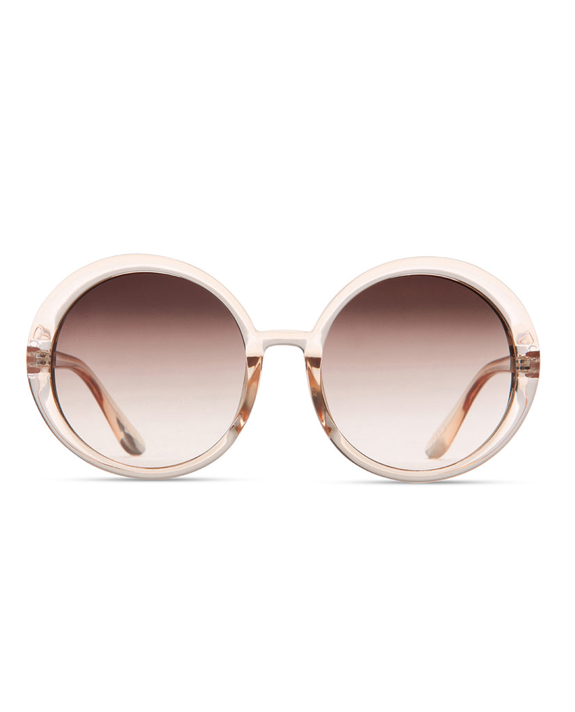Supa Sundays Marilyn Sunglasses - Peach Sunglasses - View 2