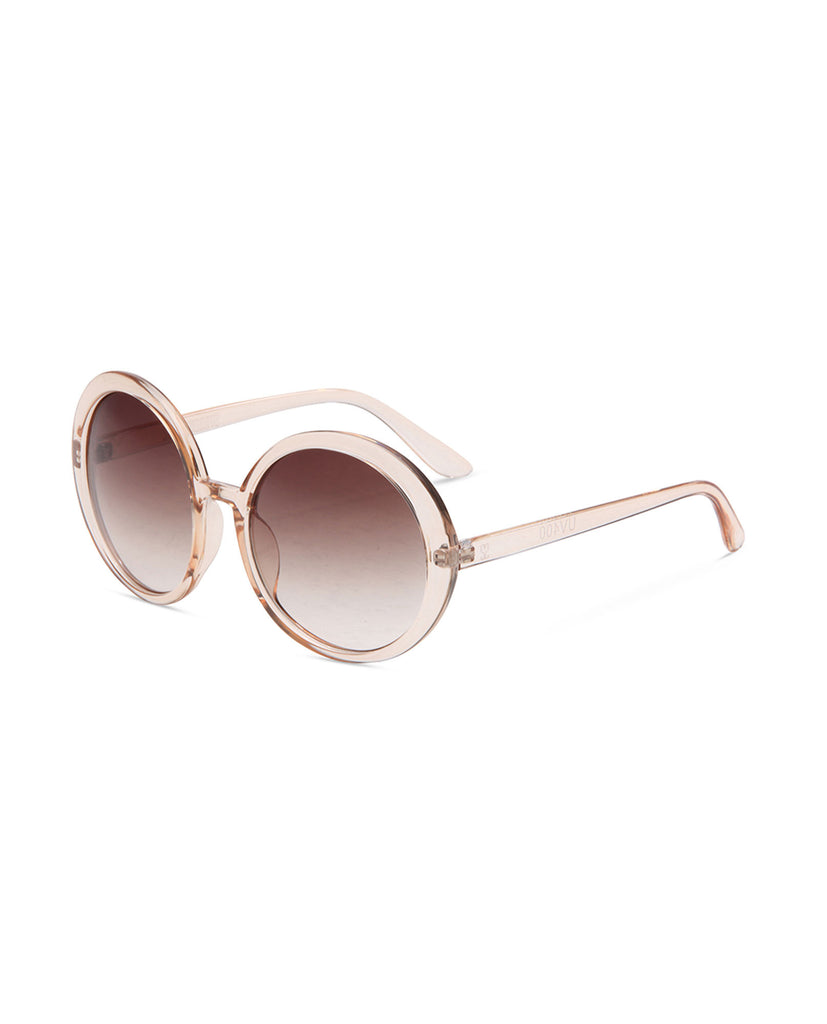 Supa Sundays Marilyn Sunglasses - Peach Sunglasses - View 3