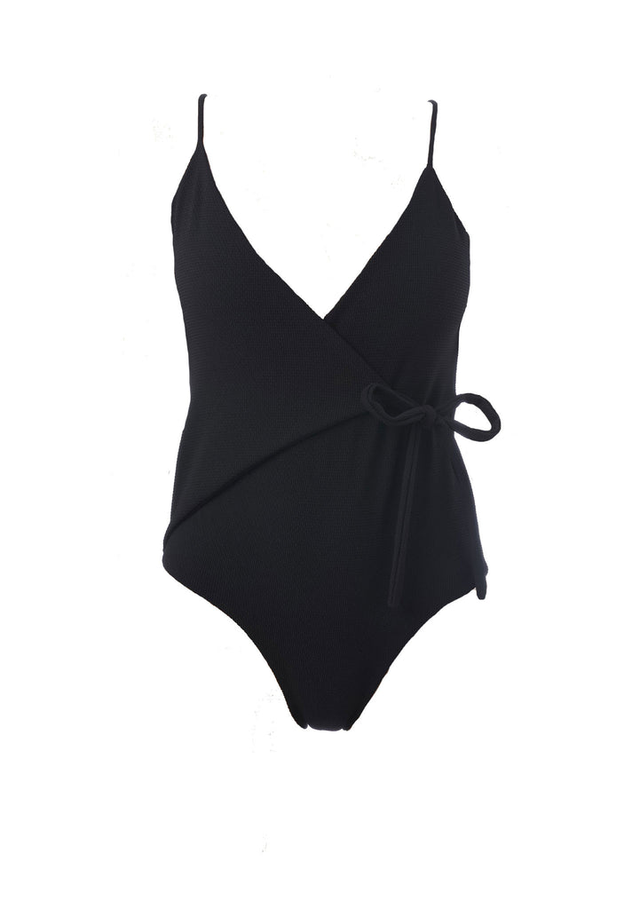 Skye and staghorn wrap onepiece swimsuit cut out