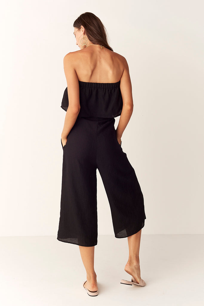 Suboo De Coup Strapless Jumpsuit Back View