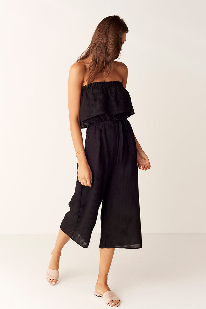 Suboo De Coup Strapless Jumpsuit Side View