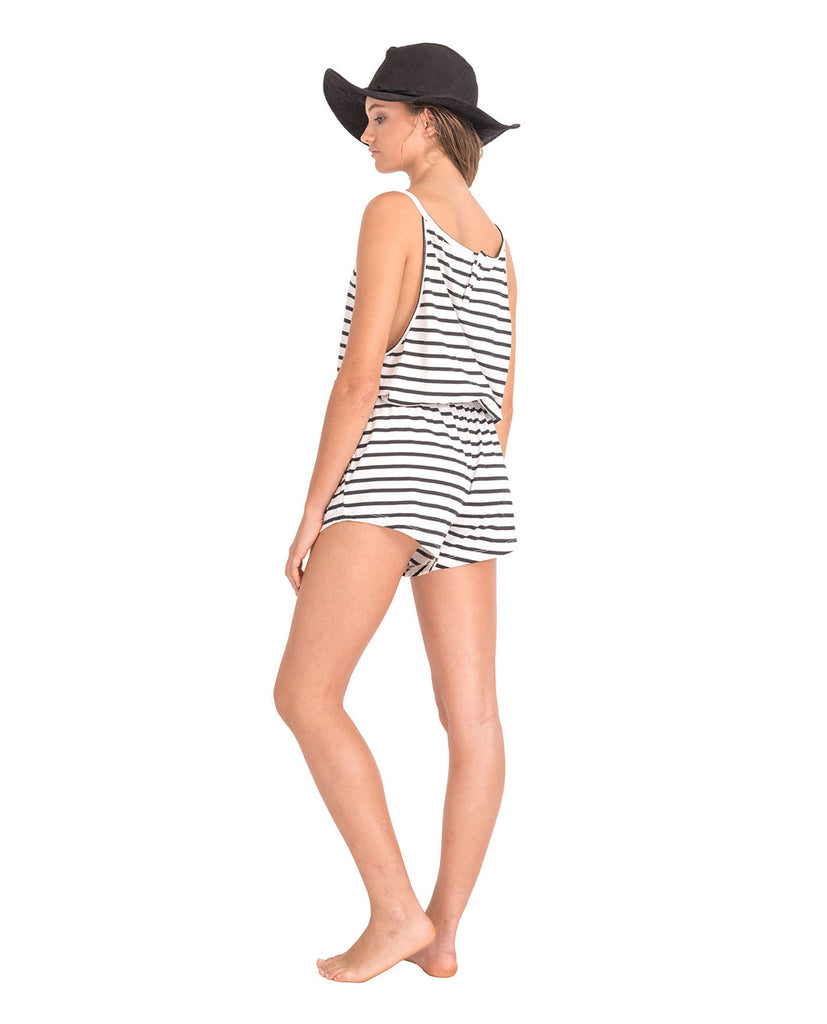 The Bare Road Classic Stripe Playsuit || The Bare Road || Playsuits - View 2