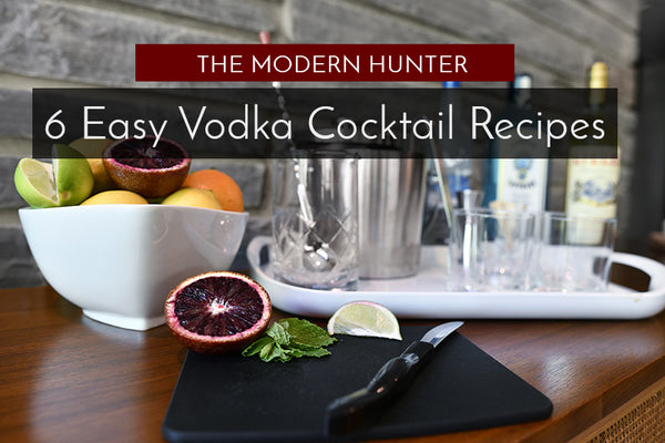 6 Vodka Drinks That Are Designed To Impress Every Type Of Guest