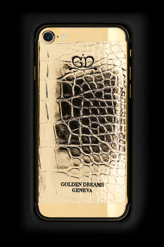 gold diamond iphone