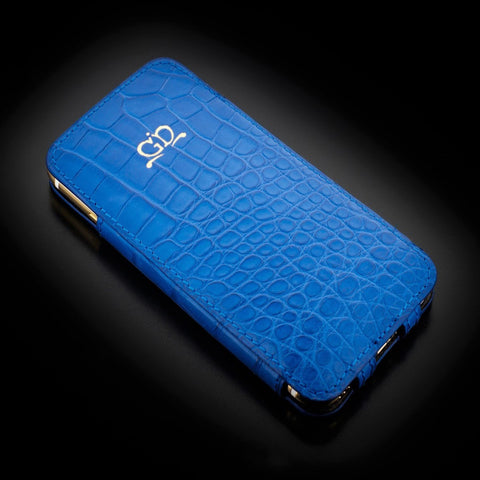 Case - Matte Blue Alligator