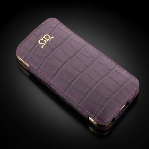 Case - Matte Purple Alligator