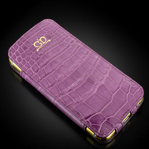 Case - Glazed Purple Alligator