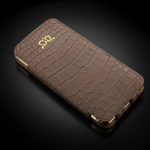 Case - Matte Brown Alligator