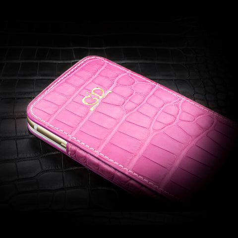 Case - Matte Pink Alligator