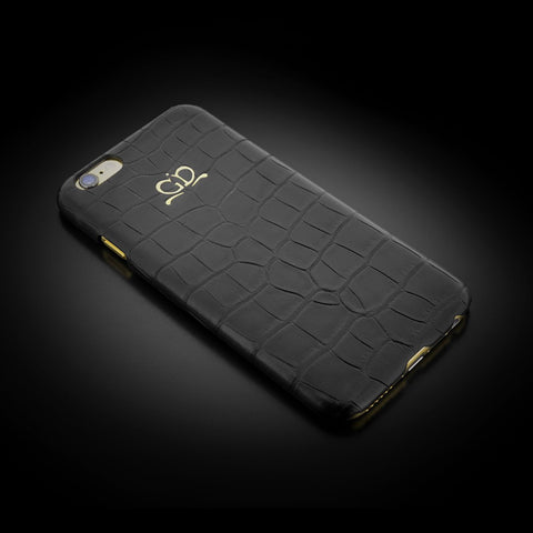 Clip-on Case - Black Alligator