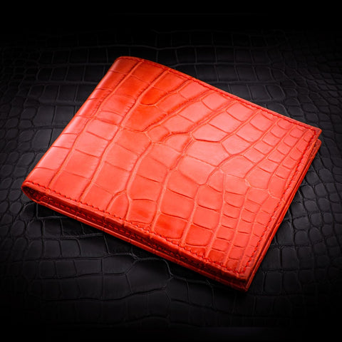 Auré Wallet - Glazed Red