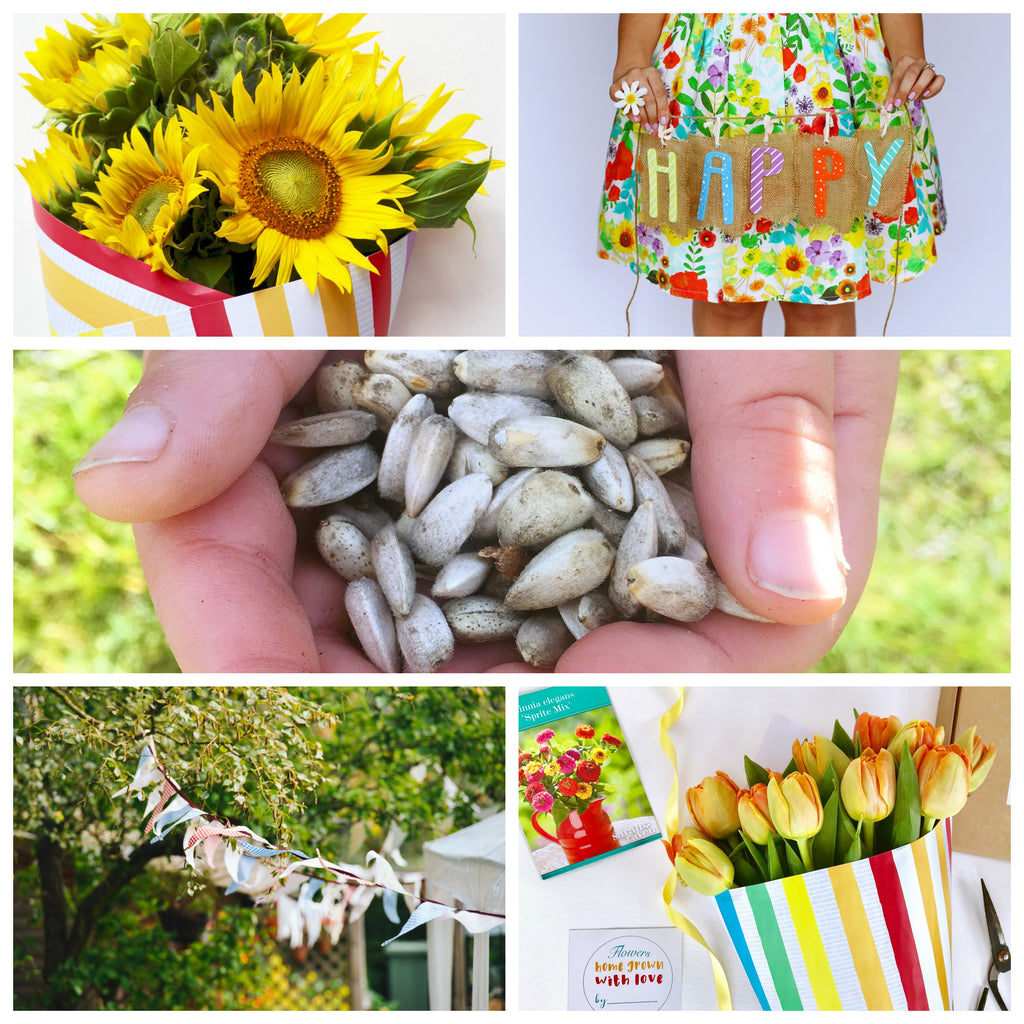 How to Throw a Flower-Themed Party for Kids - Wrap and Grow