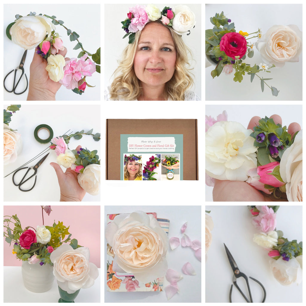 Hen Party Idea - DIY Flower Crowns