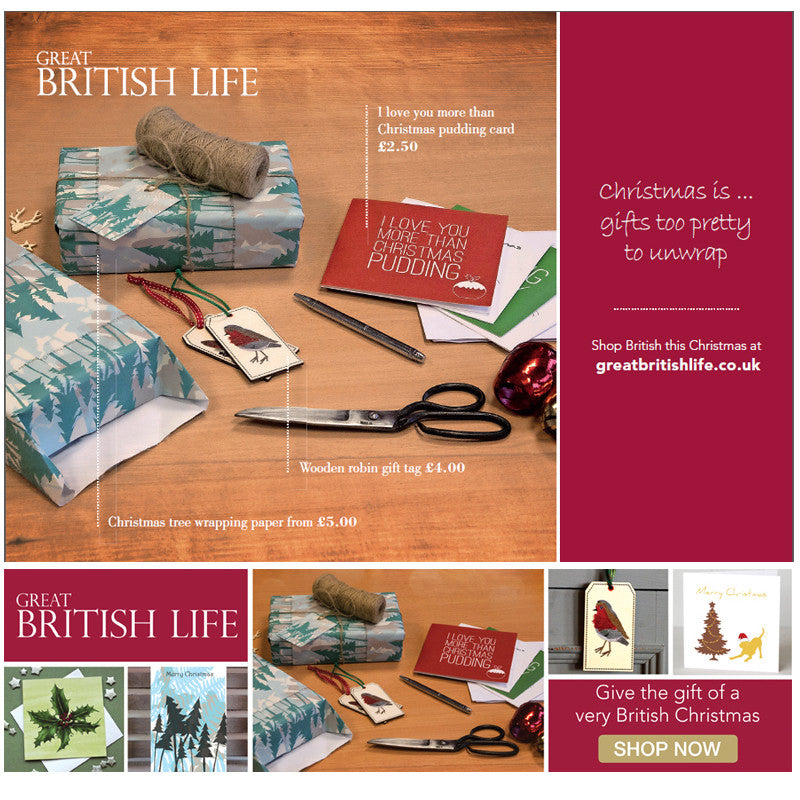 Great British Life Christmas Campaign - Gifts Too Pretty To Unwrap