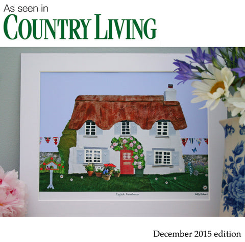 Country Living Molly Margaret Art Print Feature