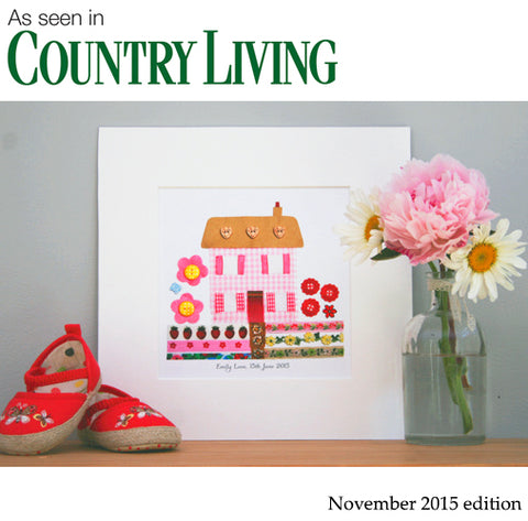As seen in Country Living Molly Margaret Designs