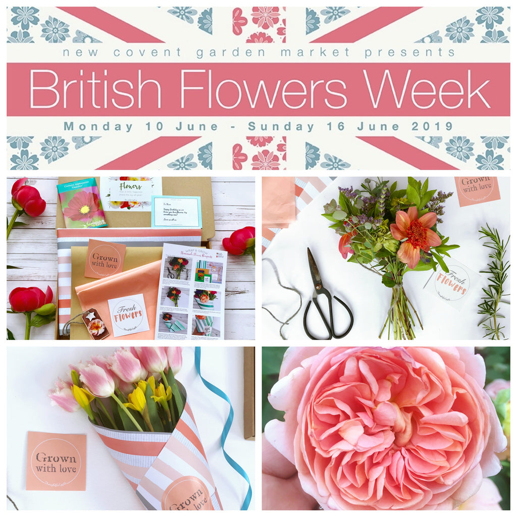 British Flower Week - 10 - 16 June 2019