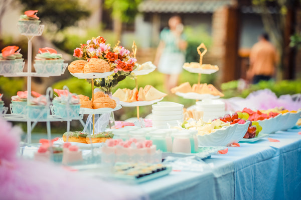 Garden Party Food Buffet Ideas