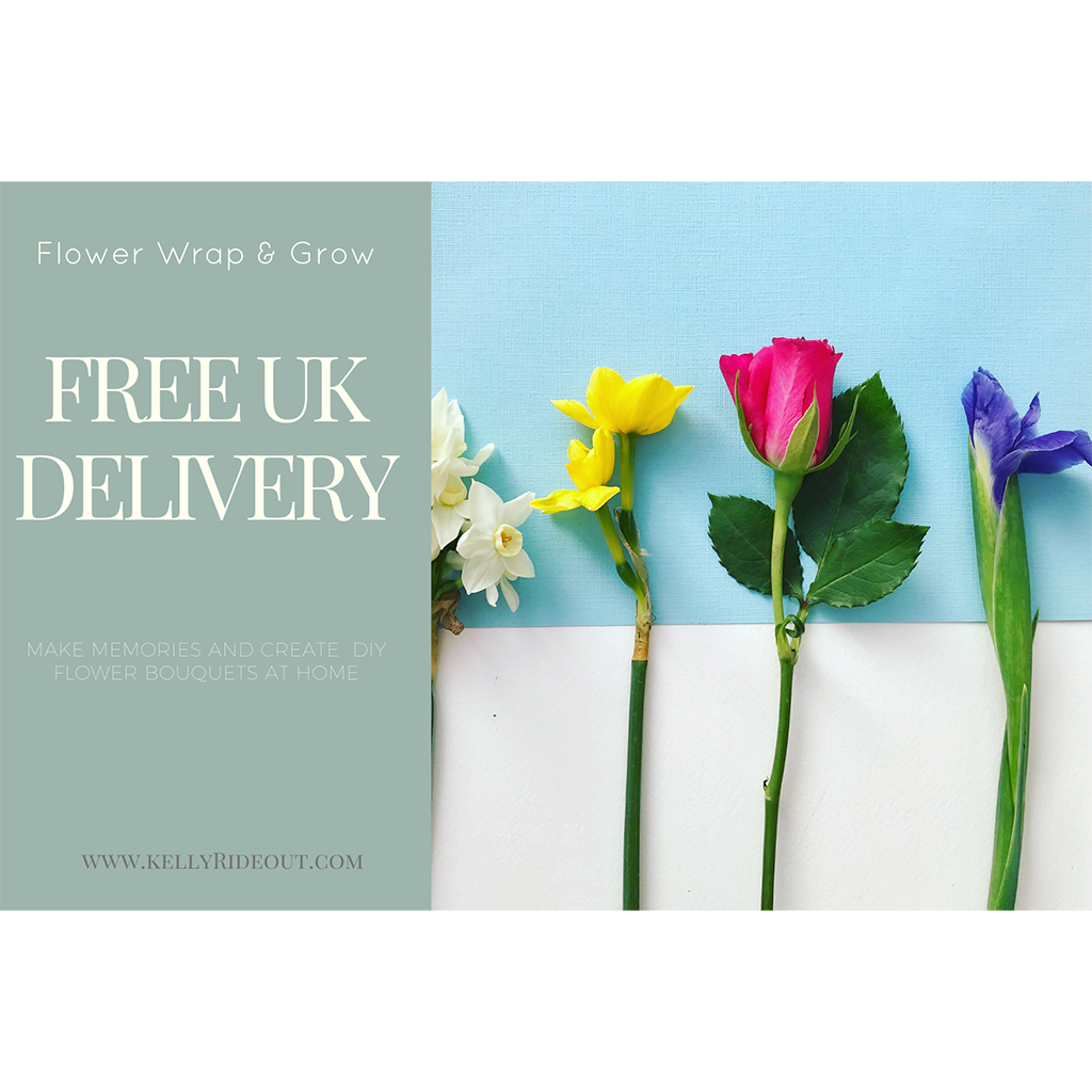 DIY FLOWER BOUQUET SETS WITH FREE UK DELIVERY