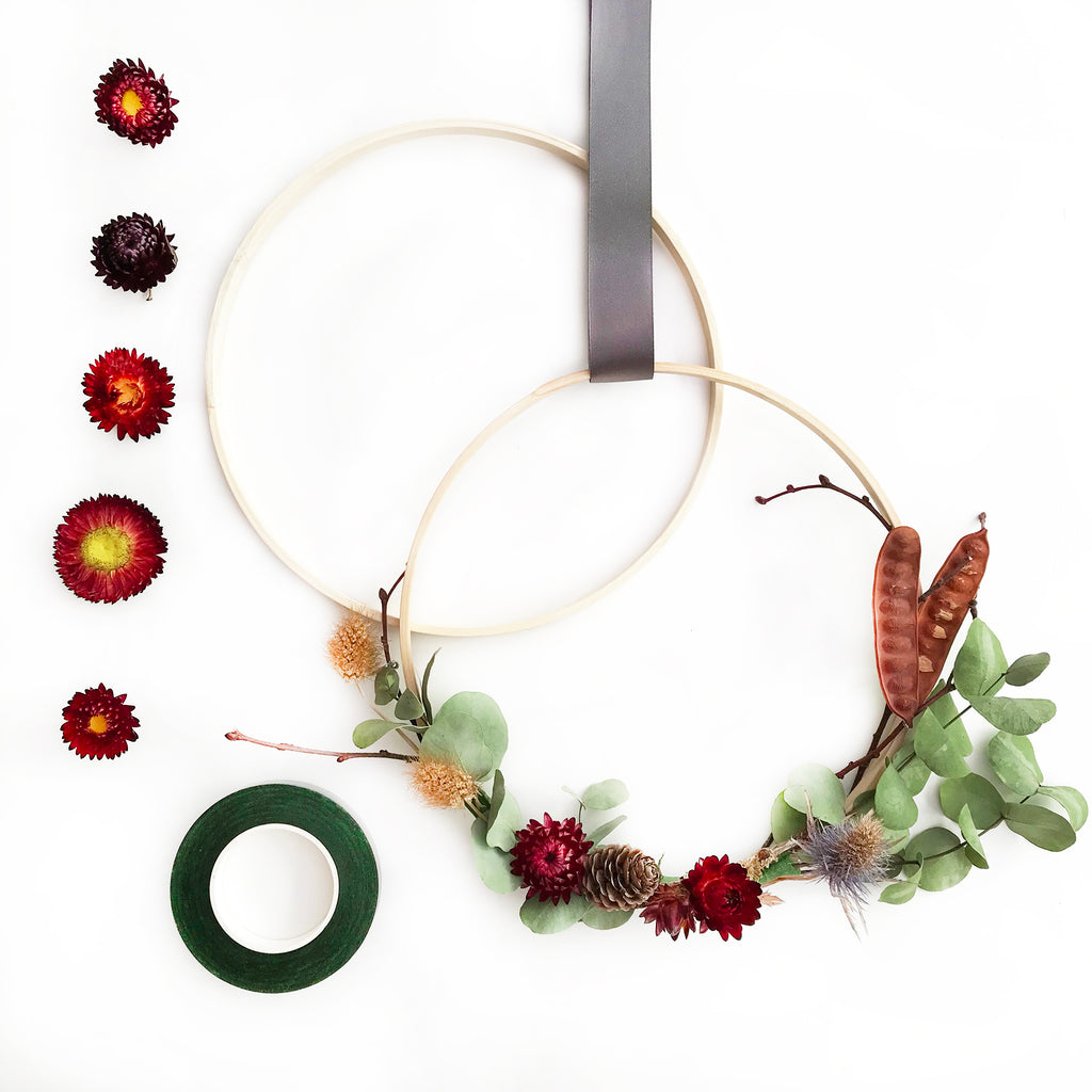 DIY Flower Wreath Kits