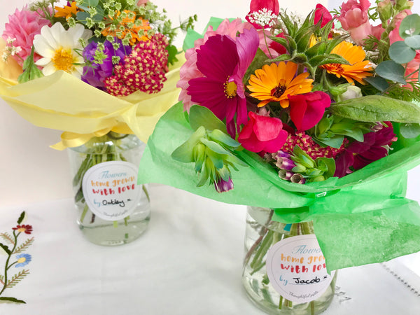 Flower Jar Gift Ideas for Children To Make