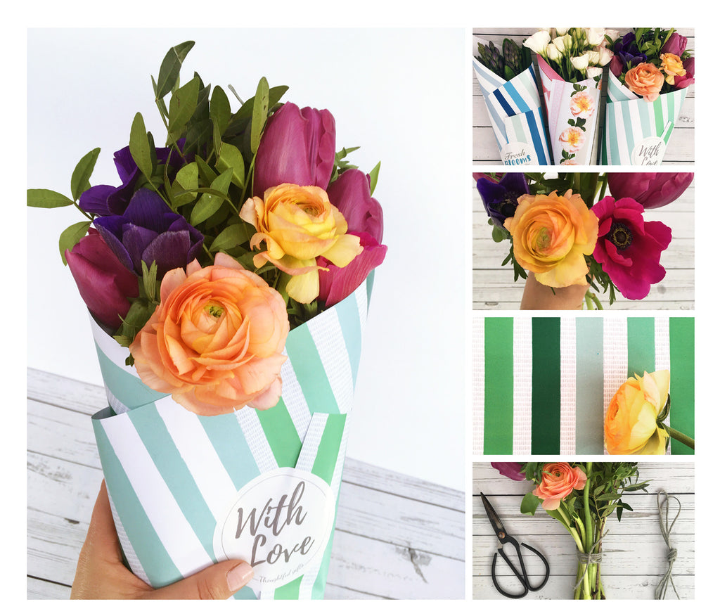 Thoughful gifts, cutting garden flowers and DIY Flower Arrangments