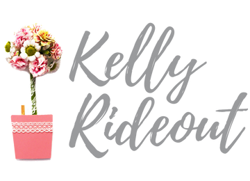 Kelly Rideout Logo - Flower Wrap and Grow