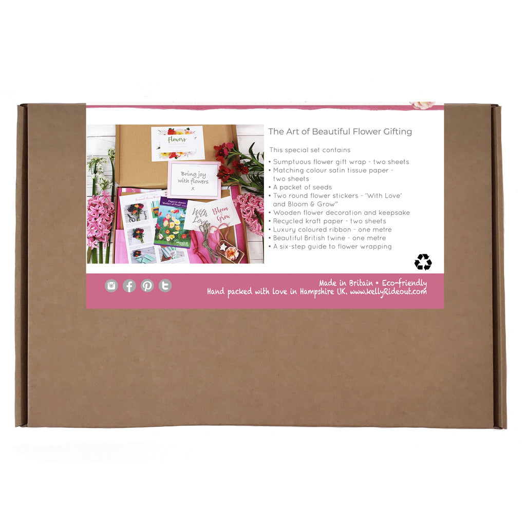 Grow your own flowers and wrap flower bouquets Kit