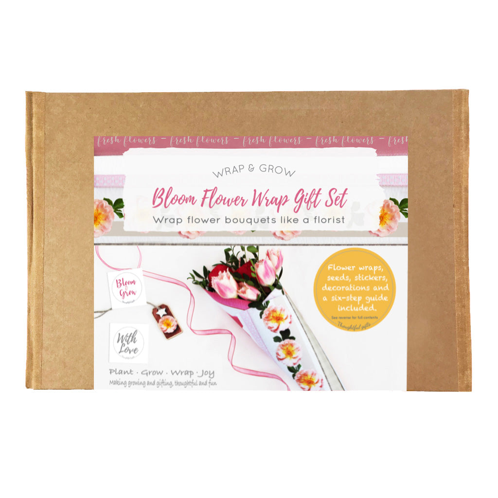 Bloom Flower Gift Set, Make Flower Bouquets